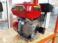 Двигатель бензиновый DDE 170FB 7.5 л.с 19 вал шпонка,фильтр с масляной ванной + 2-х ручейковый шкив.