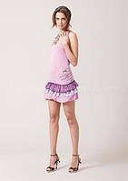 Жіноча Сукня-сарафан рожева трикотажна S (42-44) «Fracomina» (Італія)