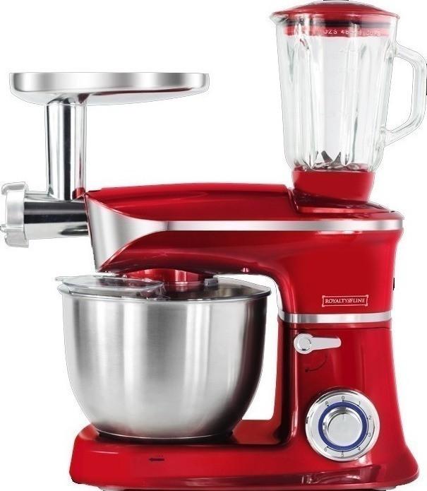 Кухонная машина Royalty Line 3в1 RL-PKM1900.7BG Red