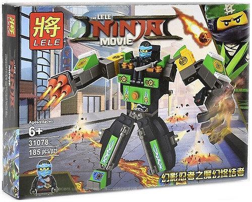 Конструктор Lele Ninja Movie Боевой робот 185 дет. (31078)