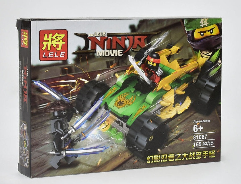 Конструктор Lele Ninja Movie 155 дет. (31067)