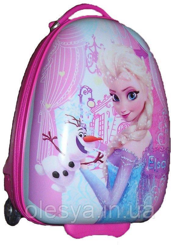 """Детский чемодан на колесах """"Холодное сердце"""" для детей 3- 8 лет"""