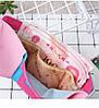 Кошелек розовый с совами, фото 3