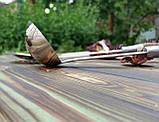 Комплект шумовка/половник  из нержавеющей стали с рукоятью из рога. Ручная работа. Шахрихан/Узбекистан, фото 5