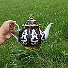 Узбекский чайник Пахта Фарфор. 1л, эконом, фото 2