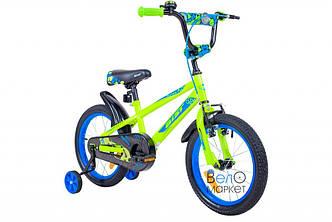 "Велосипед AIST PLUTO 16"" дитячий, зелений"