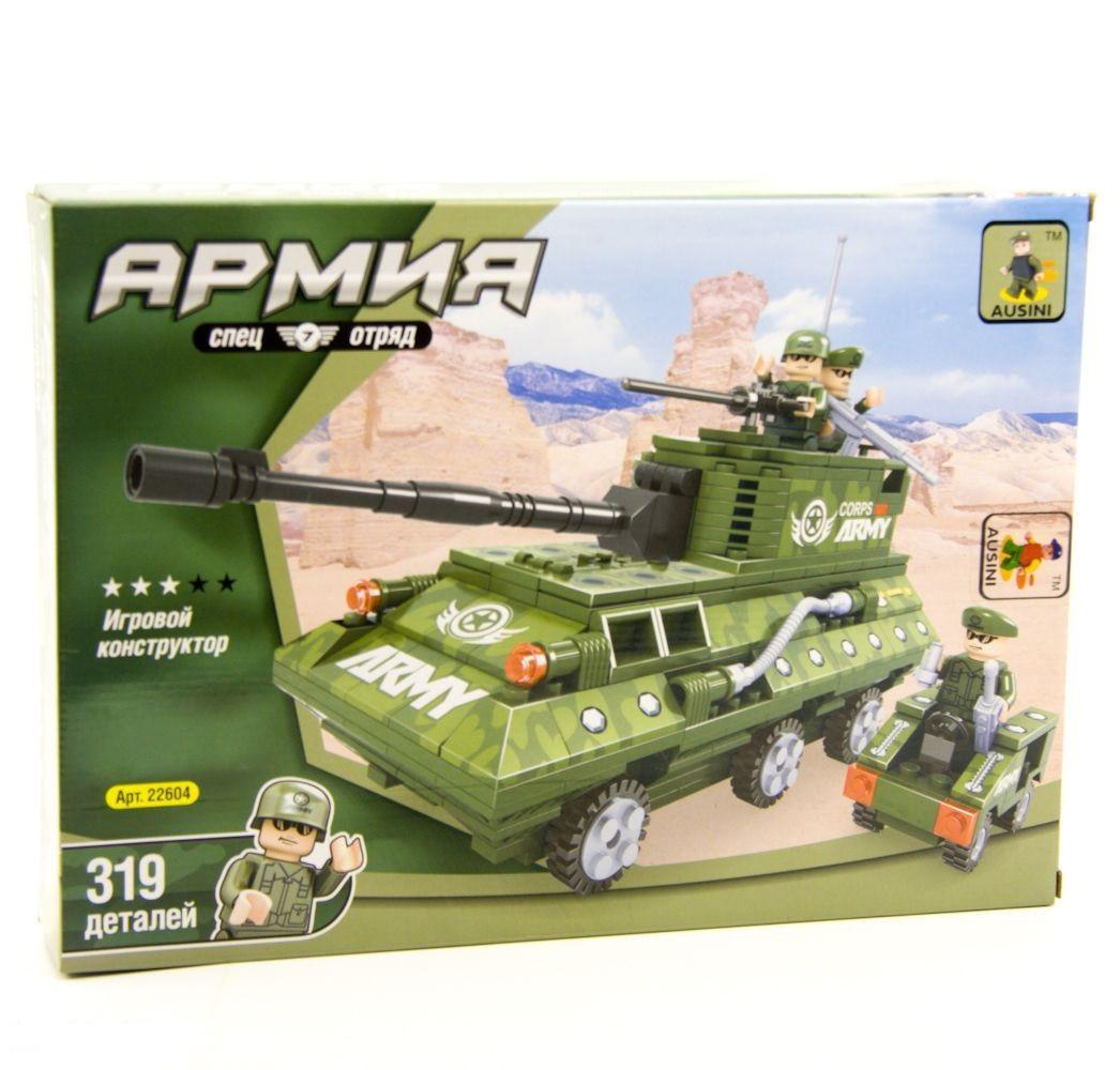 Конструктор Ausini Армія Бронетранспортер 319 дет. (22604)