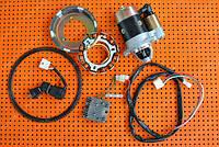 Комплект для переоборудования мотоблока под электростартер. Для дизельного 6 л.с. двигателя 178F.