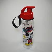 Детская бутылка для воды, детская бутылочка Минни маус, бутылочка для воды 500 мл
