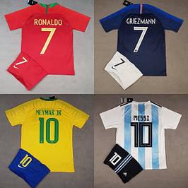Футбольная форма сборных