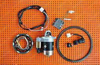 Комплект для переоборудования мотоблока под электростартер. Для дизельного 9 л.с. двигателя 186F.