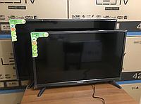 """Smart TV 4K Телевизор c Т2 приставкой встроенной: LCD LED JPE 50"""" 12V, USB, HD-экран,HDMI, VGA"""