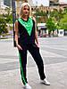 Женский летний брючный костюм S-M, L-XL, XXL-XXXL, фото 5