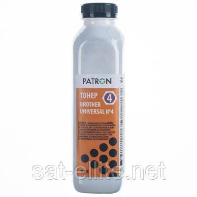 Тонер PATRON Brother Universal №4 200г (PN-BU4-200)