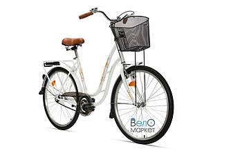 "Велосипед AIST TANGO 26"" 1.0, женский, белый"