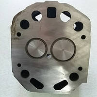 Головка цилиндра в сборе на мототрактор ZUBR 12л.с. форсунка Ø21мм