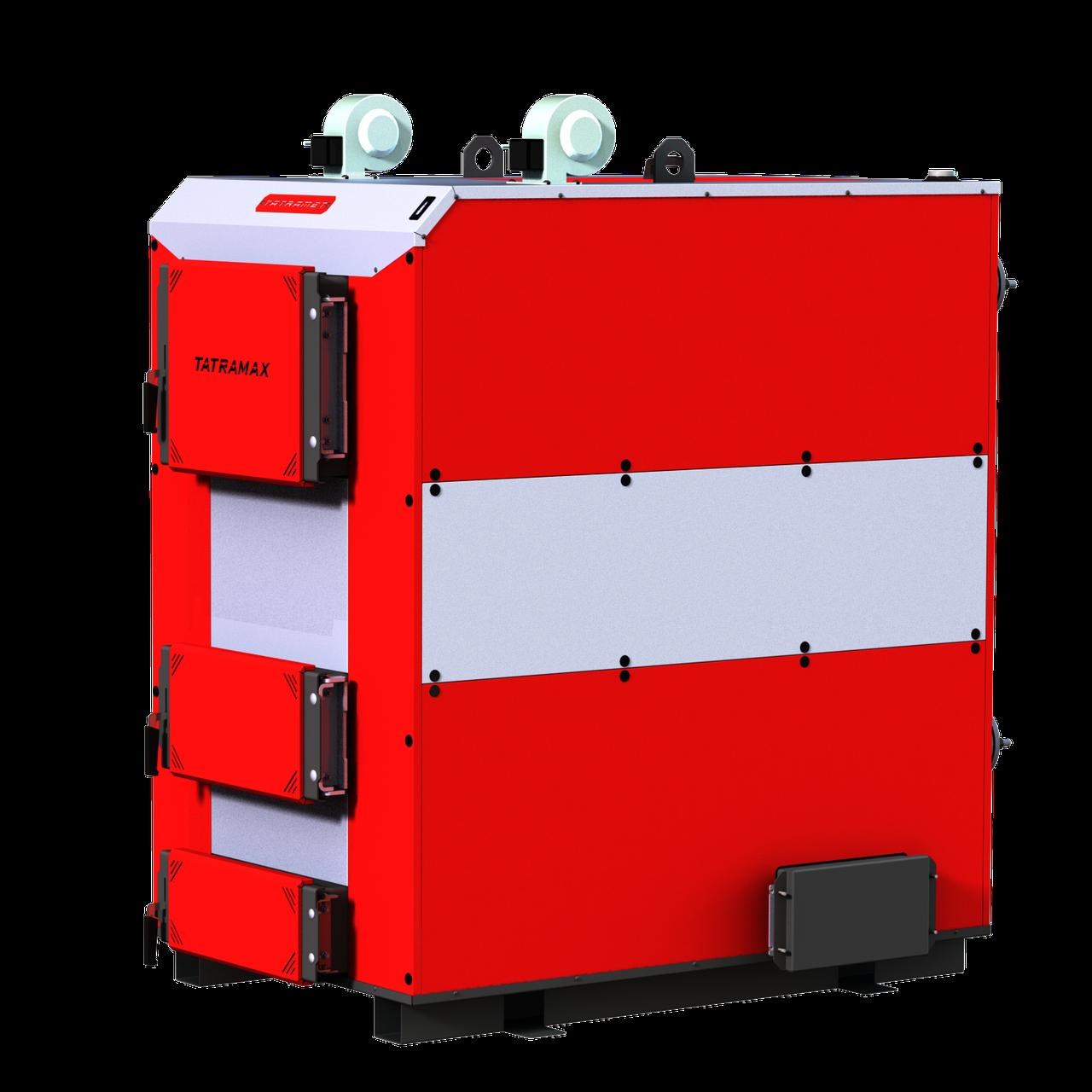 Промисловий котел з ручним завантаженням палива TATRAMET MAX (ТАТРАМЕТ МАКС)потужність: 200 квт, товщина стали: 6мм