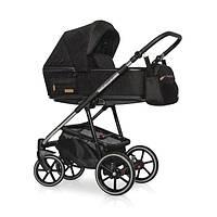 Дитяча коляска Riko Swift Premium 13 Carbon ( Чорна), фото 1