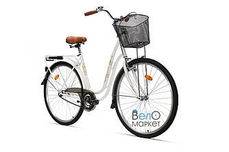 """Велосипед AIST TANGO 28"""" 1.0, жіночий, білий"""