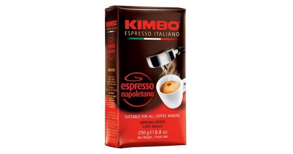Кофе молотый  KIMBO ESPRESSO NAPOLETANO, 250 грамм.  Италия