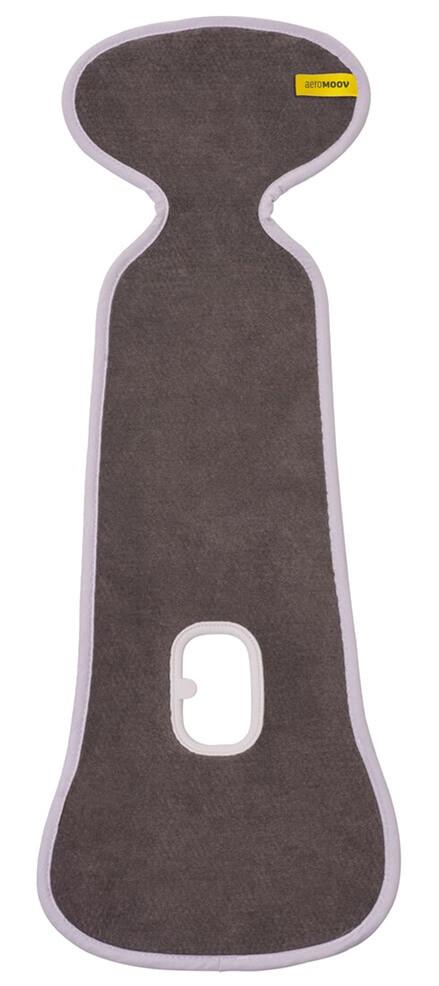 AeroMoov - Универсальный дышащий вкладыш Air Layer для коляски, цвет антрацит