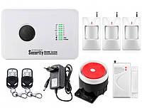 Комплект сигнализации GSM Alarm System G10C modern plus для 2-комнатной квартиры Белый
