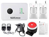 Комплект сигнализации GSM Alarm System G10C modern plus для 1-комнатной квартиры Белый
