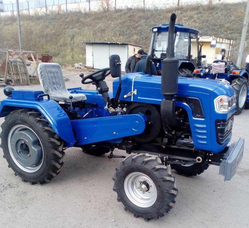 Трактор, DW240B, (24 лс, 4х2, 1цил., 1-е сц., блок. диф.)