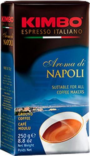 Кава мелена KIMBO AROMA DI NAPOLI, 250 грам. Італія