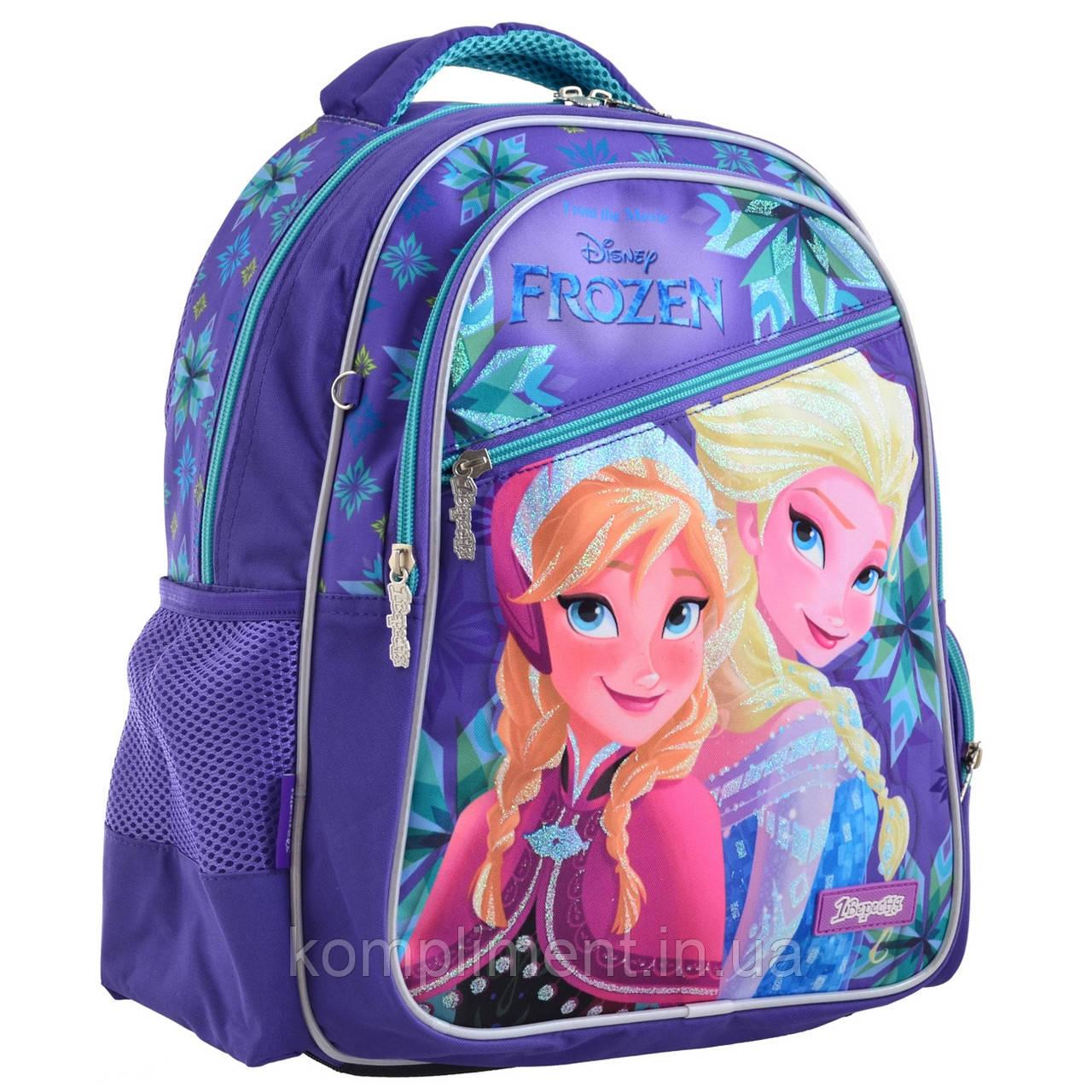 """Рюкзак школьный подростковый для девочки S-23 """"Frozen """", 1 Вересня"""