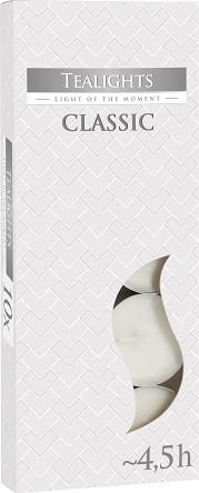 Свечи чайные Bispol Classic 1,5 см 10 шт (p15-10)