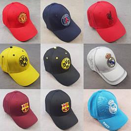 Кепки, бейсболки футбольних клубів