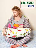 Подушка Для Беременных и Кормления Ultra Exclusive, В комплекте: наволочка - Сиреневая, фото 5