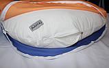 Подушка Для Беременных и Кормления Ultra Exclusive, В комплекте: наволочка - Оранжево-Синяя, фото 2
