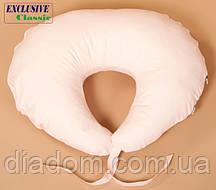 Подушка для кормления, Exclusive Classic, Абрикосовая