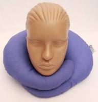 Дорожная подушка под шею Matrix, Синяя, фото 1