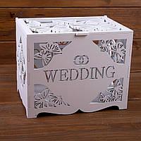 """Деревянный сундук """"Wedding"""" ( арт. WMB-603)"""