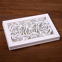 """Подставка для колец """"Mr Mrs"""" (арт. CR-601)"""