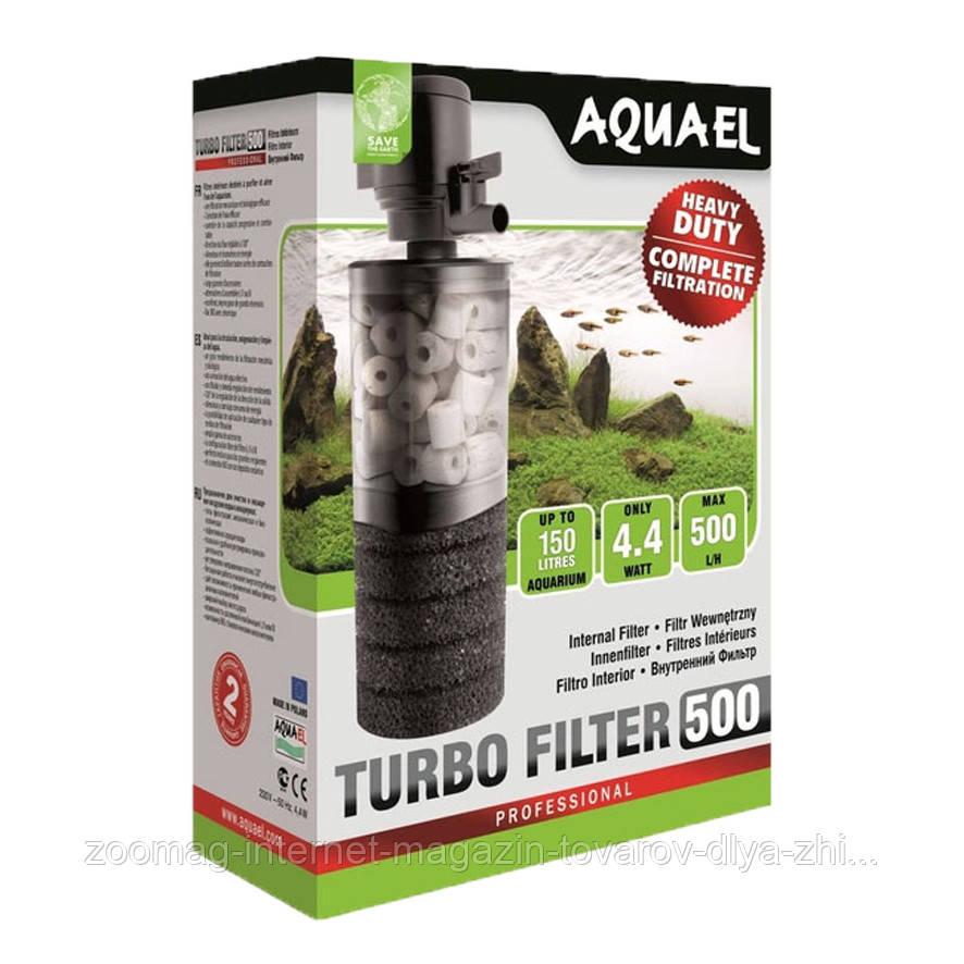 """Фильтр для аквариума """"TURBO FILTER 500"""" (4.4Вт, 500л/ч, до 150л) AquaEL"""