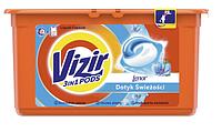 Капсули для прання універсального білизни Vizir Go Pods Lenor 3в1 38 шт