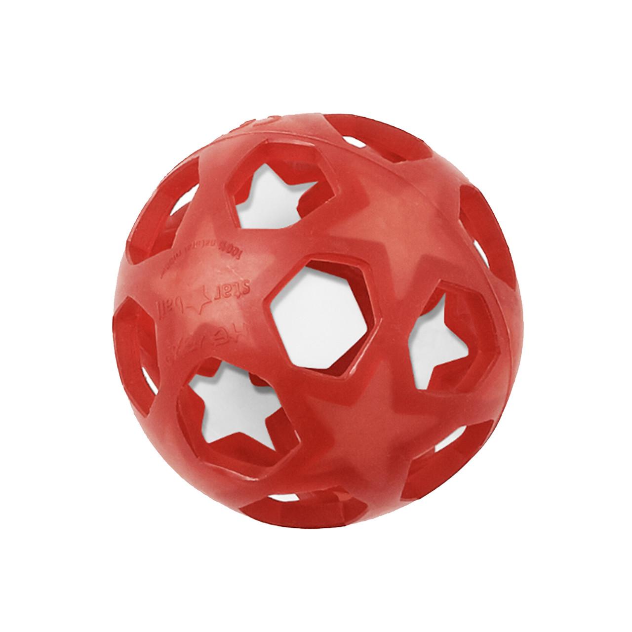 HEVEA - Игрушка-прорезыватель Star Ball Red