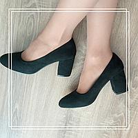 Туфли MeiDeLi 81-3 черная замша, фото 1