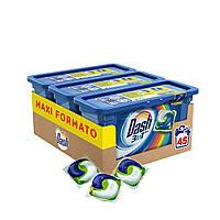 Капсули для прання кольорової білизни Dash Salva Color 3 в 1 45 шт