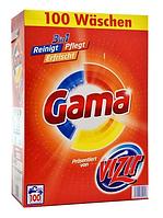Стиральный порошок Vizir Gama 3в1 100 стир.