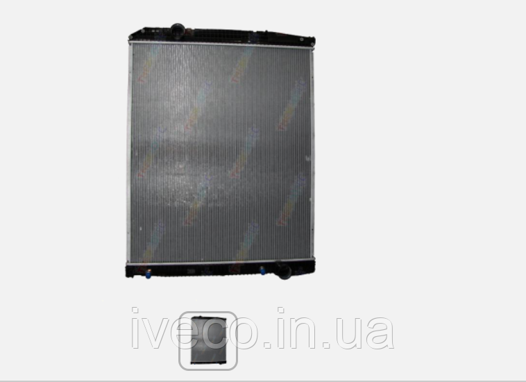 Радиатор без рамы [thermotec] Mercedes Actros 9425001103
