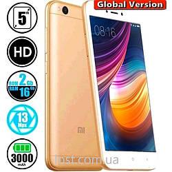 Смартфон Xiaomi Redmi 5A 2/16Gb Gold (Clobal Version)