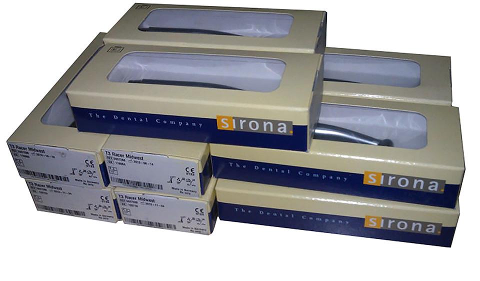 Sirona T3 Racer турбінний наконечник, стоматологічний наконечник, LED підсвічування (вбудований генератор).