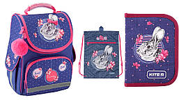 Школьный набор 3в1 Kite Education Fluffy bunny K19-501S-4