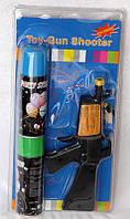Пистолет для распыления серпантина с двумя балончиками