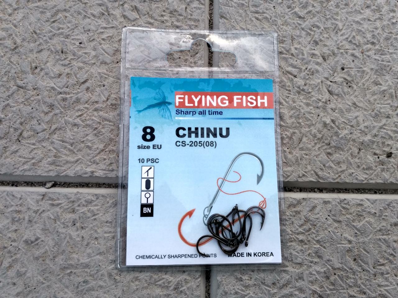 Крючок Flying Fish Chinu №8 10 шт.